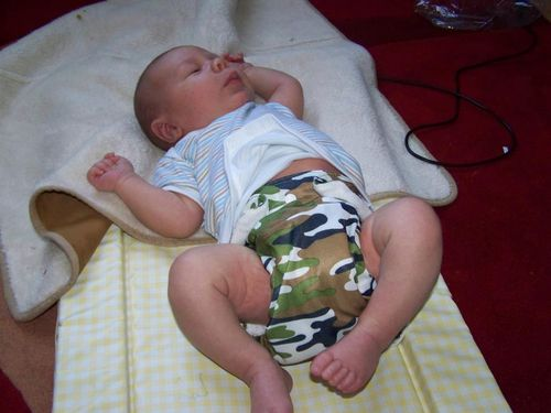 Oscar Cloth Nappy